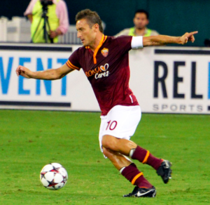 AS Roman ottelut - Francesco Totti