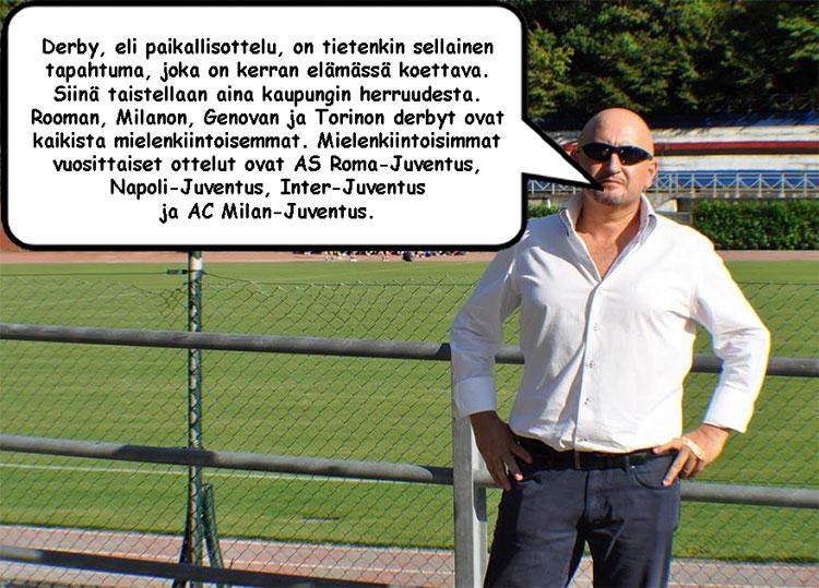 Serie A otteluohjelma puhekupla