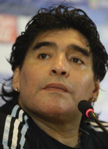 Napolin legendat Diego Maradona